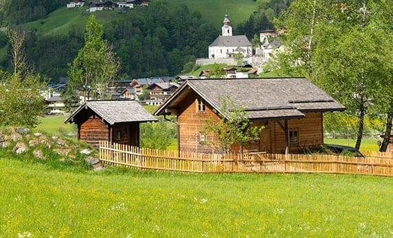 Almhütte in Großarl, Salzburger Land, für 2 – 6 Personen – Reitbauernhof
