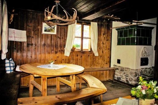 Hofeigene Almhütte in Großarl, Hubgrundalm im Tal der Almen, Salzburger Land