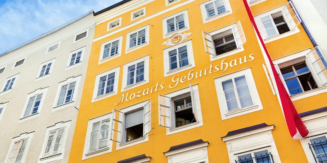 Mozart Geburtshaus - Ausflugsziel in Salzburg