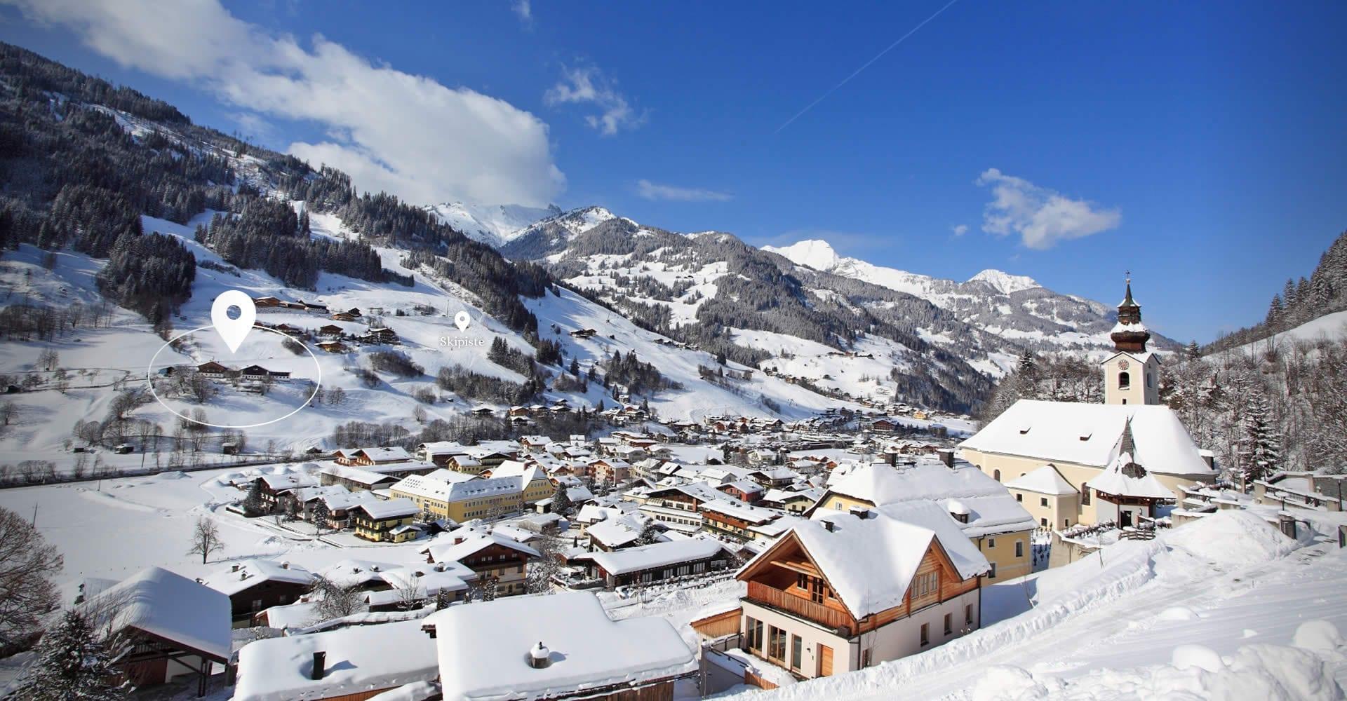 Winterurlaub & Skiurlaub in Großarl - Reitbauernhof