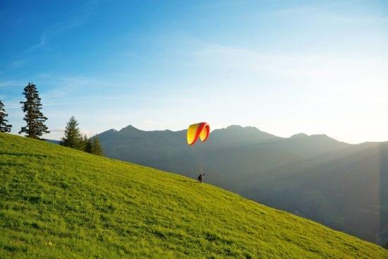 Wanderurlaub & Sommerurlaub in Großarl - Reitbauernhof im Großarltal - Paragleiten