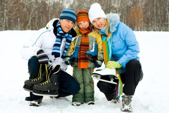 Winterurlaub & Skiurlaub in Großarl - Ski amadé - Reitbauernhof - Schlittschuhlaufen, Eislaufen