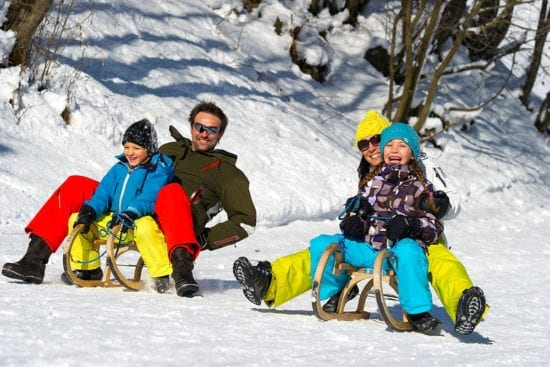 Winterurlaub & Skiurlaub in Großarl - Ski amadé - Reitbauernhof - Rodeln