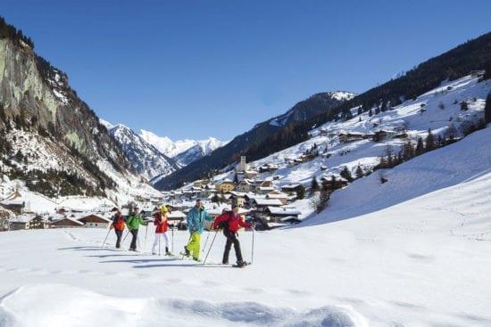 Winterurlaub & Skiurlaub in Großarl - Ski amadé - Reitbauernhof - Winterwandern