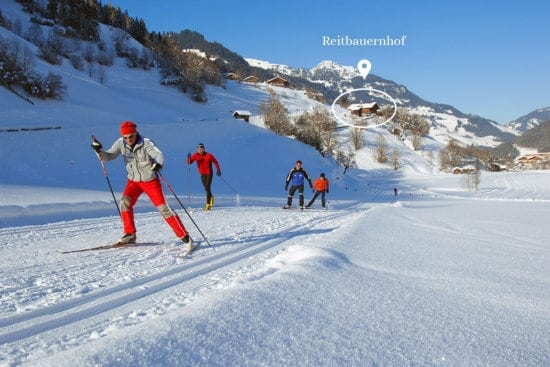 Winterurlaub & Skiurlaub in Großarl - Ski amadé - Reitbauernhof - Langlaufen